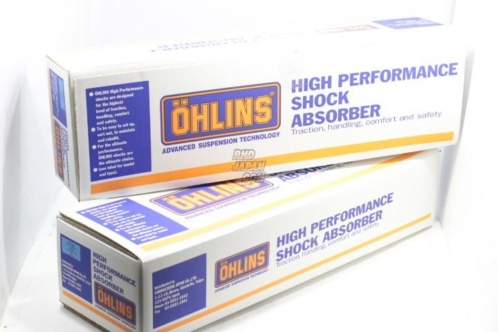 Ohlins Coilover Suspension Complete Kit Type HAL DFV Rubber Upper Mounts - BCNR33