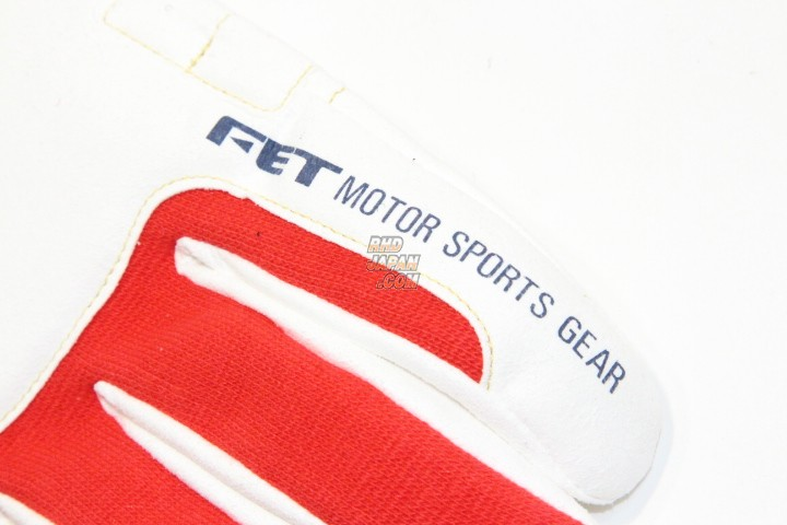 FET 3D Racing Gloves - Red White Large