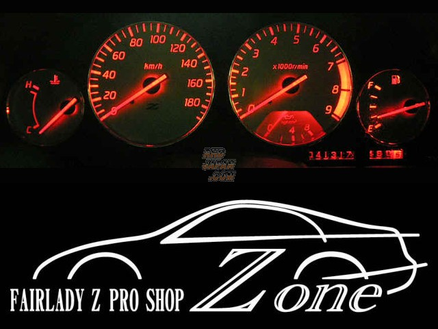 Zone Gauge Cluster LED Bulb Set White - Z32