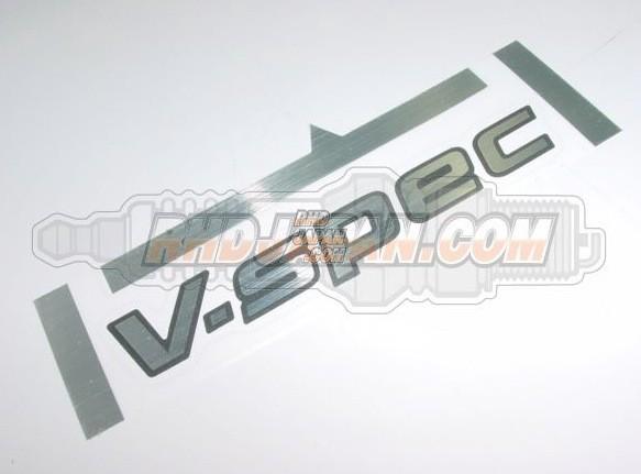 Nissan OEM V-SPEC Rear Trunk Sticker - BNR34