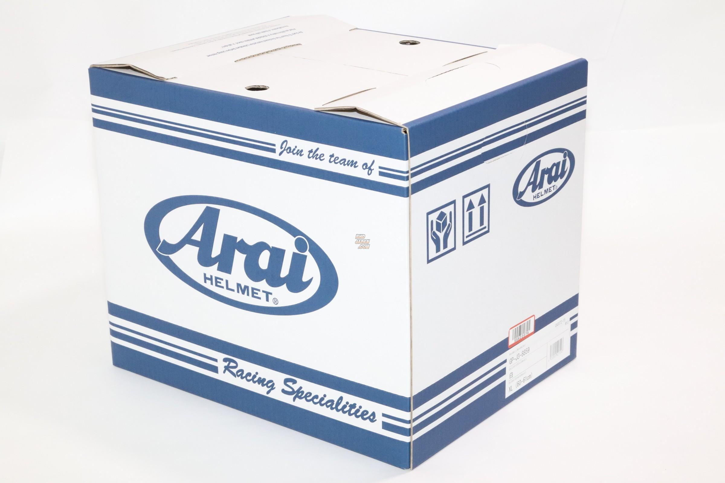 Arai Racing Helmet GP-J3 8859 Black - 59cm