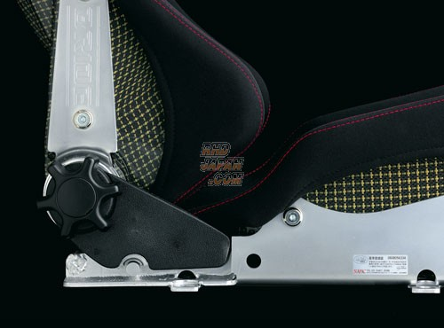 BRIDE Stradia II Reclining Bucket Seat Standard Cushion Carbon Aramid Shell - Black Logo