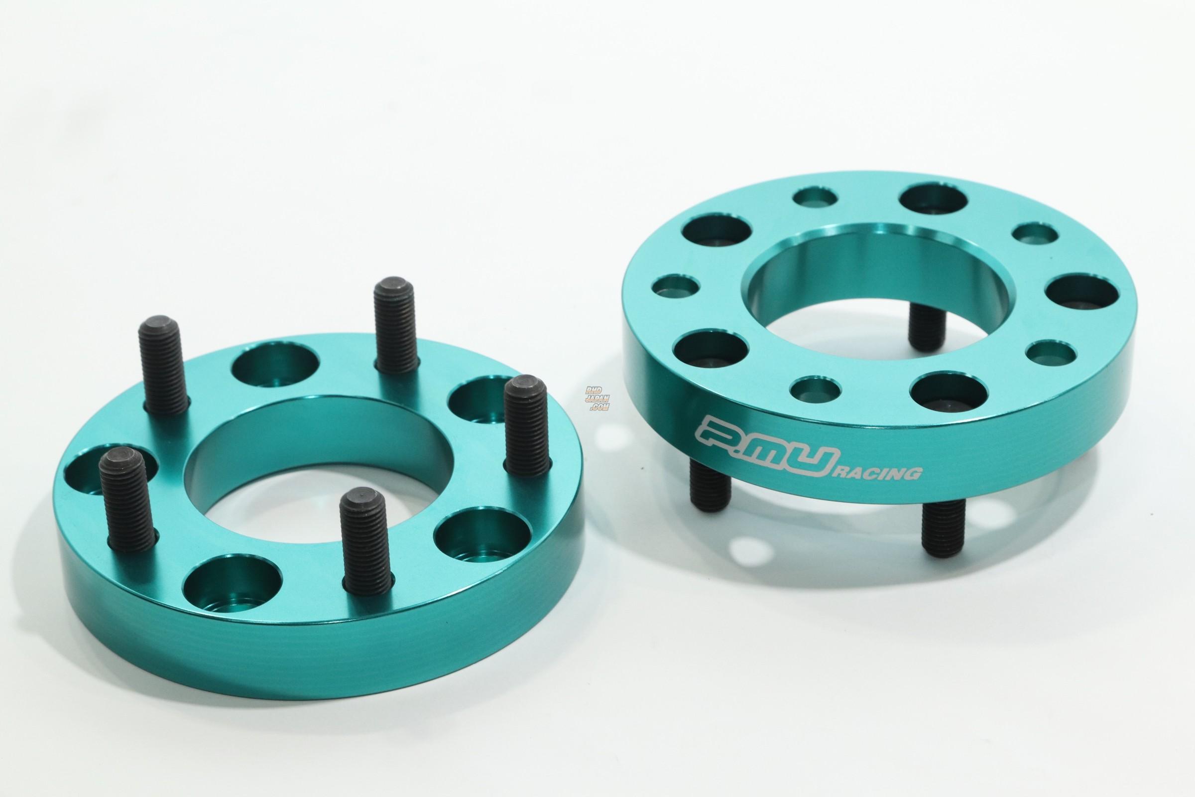 Project Mu Wide Tread Wheel Spacer Set - 25mm 5H-114.3 M12xP1.5