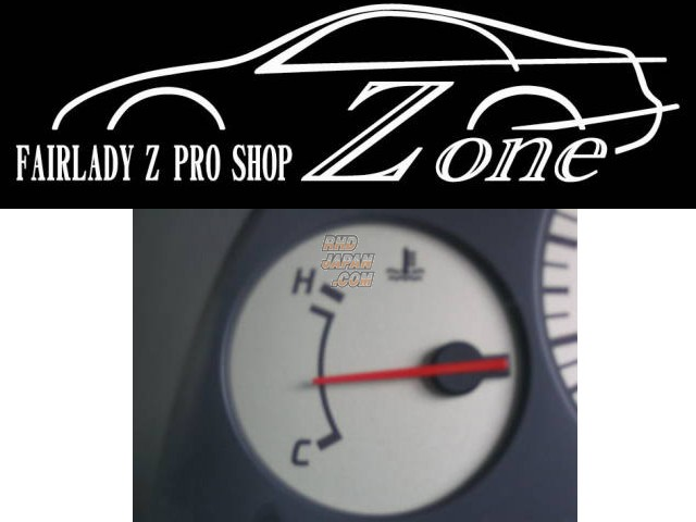 Zone White Face Gauges - Water Temperature - Z32