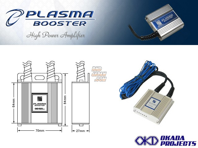 Okada Projects Plasma Booster - GC8 GF8 BF5 BC5
