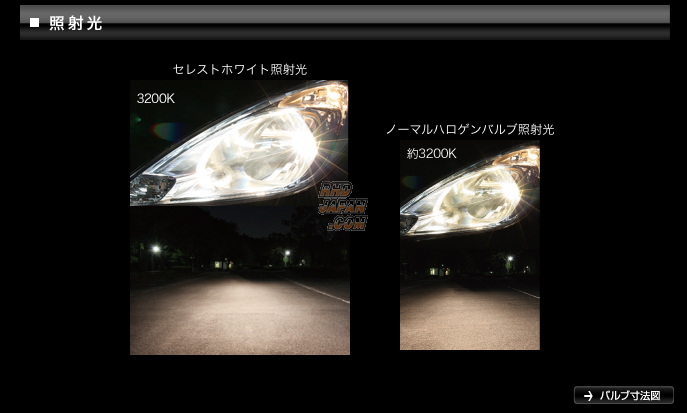 PIAA Celest White 3200k Halogen Bulbs H3