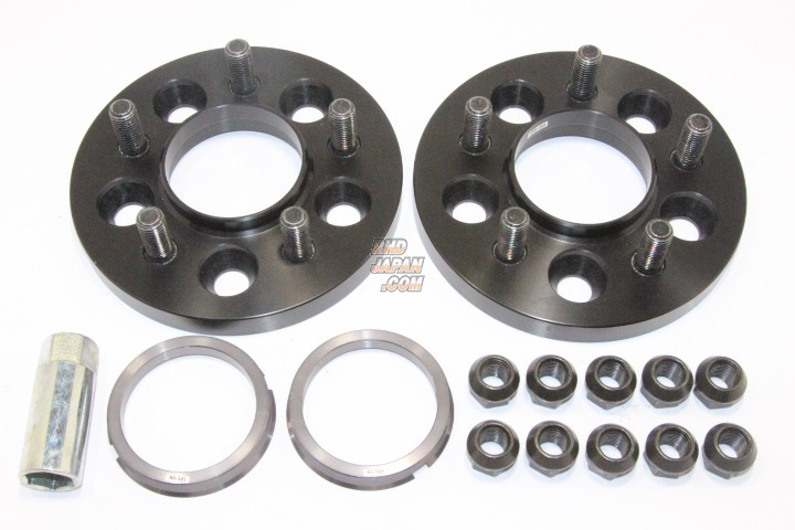 RAYS Ray Sport Hubcentric Spacer Japanese Vehicle 5H-100 M12X1.5 - 15mm 64.9X54.1