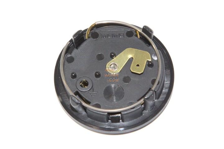 MOMO Horn Button - Carbon Silver
