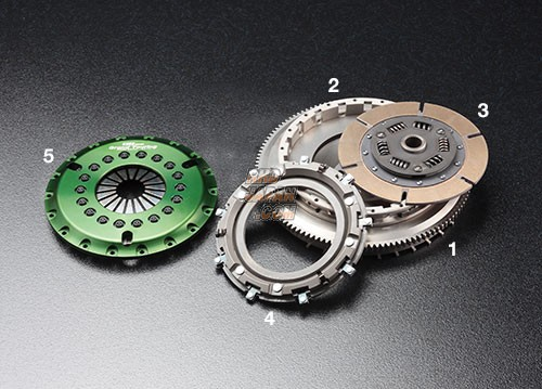 OS Giken GT Street Master Clutch Flywheel Mono Metal Soft Cover - NA1