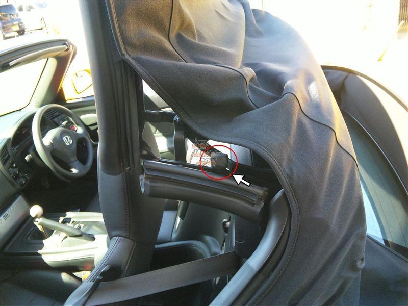 Honda OEM Soft Top Link Rubber Spacer - AP1 AP2 S2000