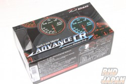 Defi Link Advance CR Intake Manifold Pressure Gauge 60mm - White