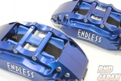 Endless Chibi6 Caliper Kit System Inch Up Kit-3 324 x 30 2pc Rotor SSM Pads Blue Almite - S15