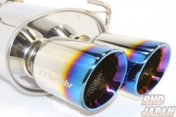Trust GReddy PE-R Power Extreme Stainless Muffler with 2nd Metal Catalyzer - HA36S