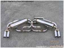 Racing Factory Yamamoto Stainless GT Exhaust Ver 1 Muffler Dual - NSX NA1