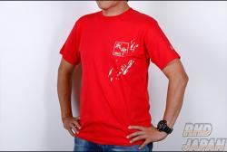 MCR Matchless Crowd Racing Logo Cotton T-Shirt Matchless Crowd Racing - Red Large