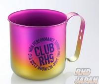 RH9 Original Titanium Mug Cup - Pink to Gold Gradation
