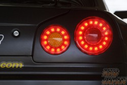 Sun Line Racing SLR-R Multi LED Tail Light VER2 Turn Signal With Small Light Option - BNR34
