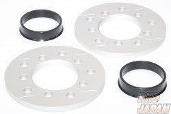 Night Pager High Durability Tread Changer Wheel Spacers - 10mm 4 Hole 54mm Body 54mm Wheel