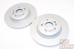 Mugen Active Gate Brake Rotors Outer Vented Front - DC5 Type R