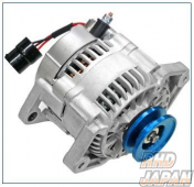 ARD Low Resistance High Output Alternator Blue Aluminum Pulley - JA11 From 150001