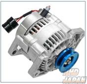 ARD Low Resistance High Output Alternator Blue Aluminum Pulley - JA11 To 150000