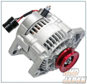 ARD Low Resistance High Output Alternator Red Aluminum Pulley - JA11 To 150000