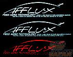Fujita Engineering FEED Afflux Sticker - Silver