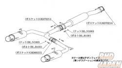 Kakimoto Racing Exhaust Muffler Replacement Gasket - 060215