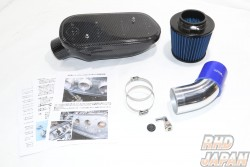 Noby Booth 4 Throttle Induction Box & Filter Set Carbon - AE86 20 Valve Engine AE101 Throttle