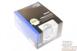 Pivot Progauge Stepping Drive Tachometer PT6 - White 60mm