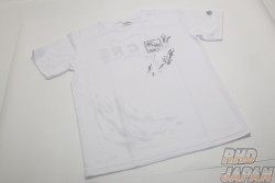 MCR Matchless Crowd Racing Logo Dry T-Shirt Matchless Crowd Racing - White Large