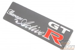 Garage Active Original Logo Plate For Floor Mat & Trunk Mat - BCNR33