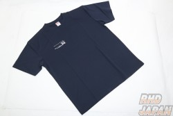 Garage Active Original T-Shirt - Dark Blue Polyester Medium Size