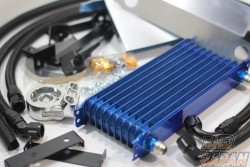 TRUST GReddy Engine Oil Cooler Kit Standard Type - M20XP1.5 NS1310G 13-Row Core