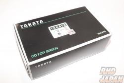 TAKATA Race 6-2 Seat Belt Harness - Black