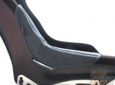 Esqueleto Seat Side Protector Type 3-4 - Fabric Black Left Side
