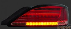 78 Works LED Fiber Tail Lamp Clear - S15