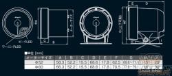 Defi Link Advance CR Tachometer Gauge 60mm - Black