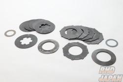 Kaaz LSD Overhaul Plate Set - S Size 12 Quantity Plates