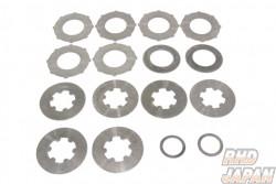 Kaaz LSD Overhaul Plate Set - M Size 12 Quantity Plates