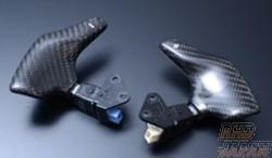 THINK DESIGN Paddle Shift Set Carbon Fiber White Shift Mark - GSE20 GSE21 GSE25 USE20
