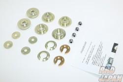 Leg Motorsport Hi-Spec Series Super Rear Member Bushing Lock Set - RX-8 SE3P Chassis Code to 120000