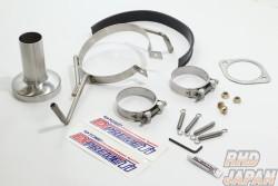 Tomei Expreme Ti Titanium Muffler Replacement Hardware Set - S15
