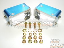 Alex Motorsports Aero Parts - Adjustable Rear Spoiler Mount Set - EK9