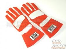 The Man Spirit Racing Gloves #0058 - Black M