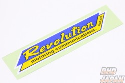 Revolution Small Logo Sticker