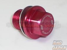 MoonFace Lightweight Oil Filler Bolt Type-5 Red - M16 X P1.50