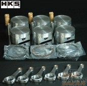 HKS Forged Piston Kit and Connection Rod Set Step 1 - R35