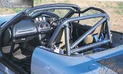 Garage Vary 4-Point Roll Bar - Aluminum Mazda Roadster NA
