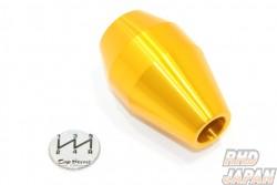 Top Secret Shift Knob Short Type 5MT Gold - M12x1.25